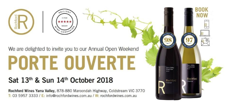 Open Weekend 'Porte Ouverte' at Rochford Wines