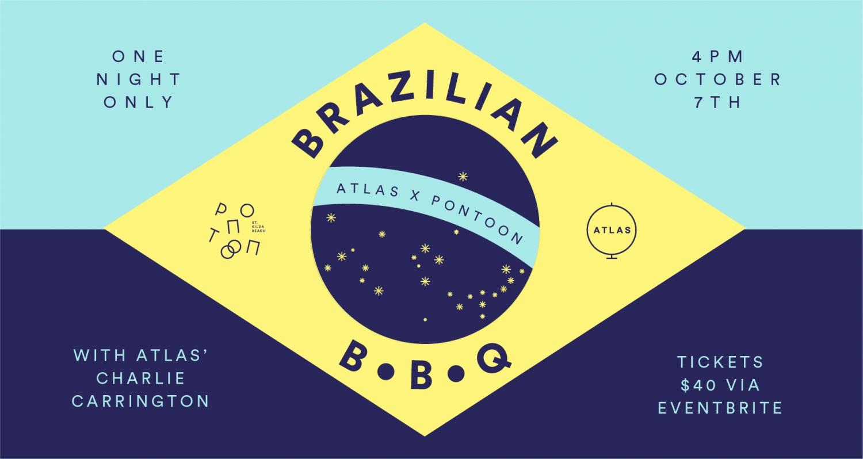 PONTOON ST KILDA X ATLAS DINING  BRAZILIAN BBQ