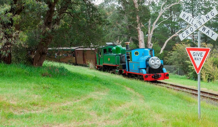 Puffing Billy's Day out with Thomas