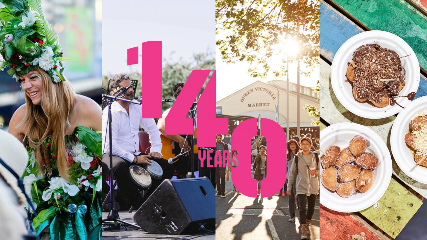 Queen Vic Market's 140 Years Street Party!