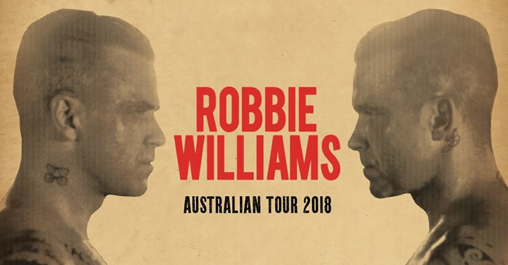 Robbie Williams Heavy Entertainment Show in Melbourne