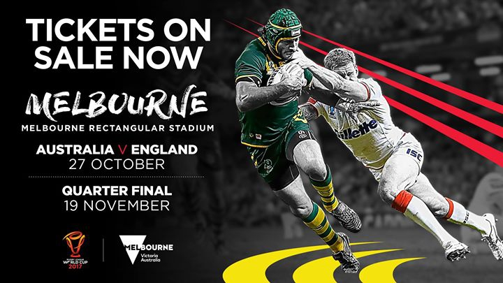 Rugby League World Cup 2017 - Opening Match Australia v England