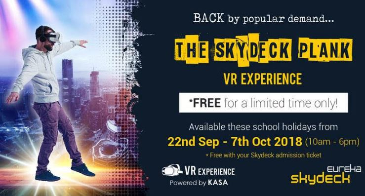 Skydeck Plank VR Experience