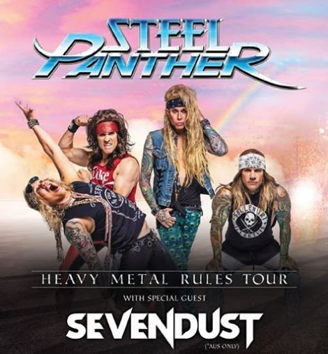 Steel Panther - Margaret Court Arena