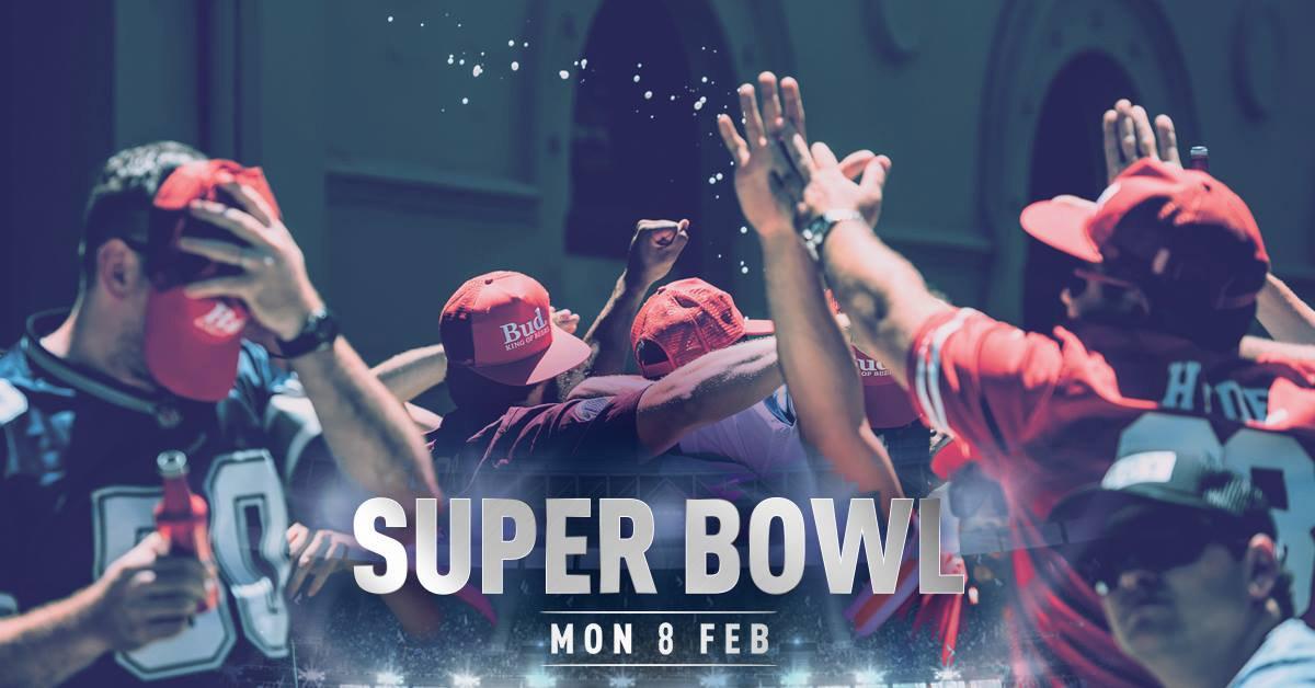 Super Bowl 2021 at The Sporting Globe