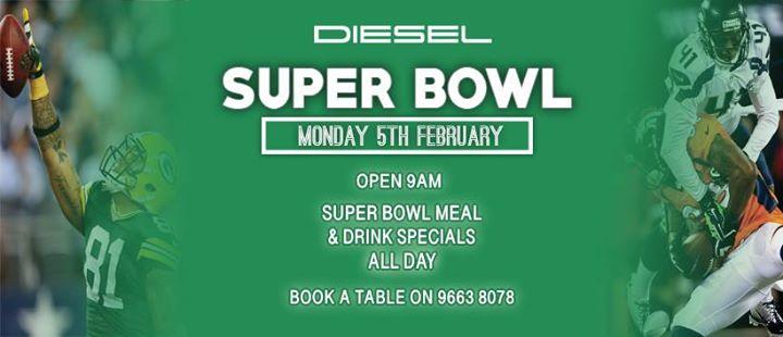 Super Bowl - Book a Table!