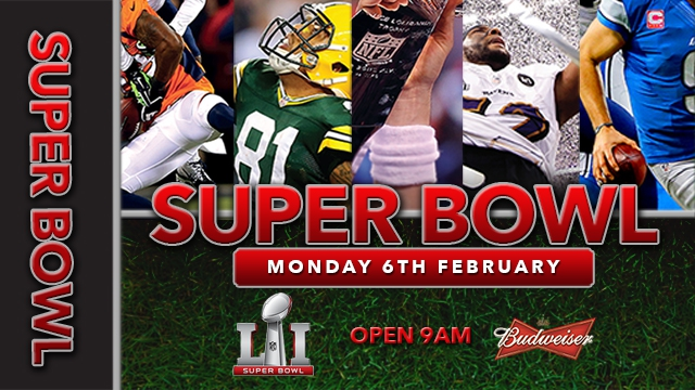 Superbowl LIVE @ The Lion