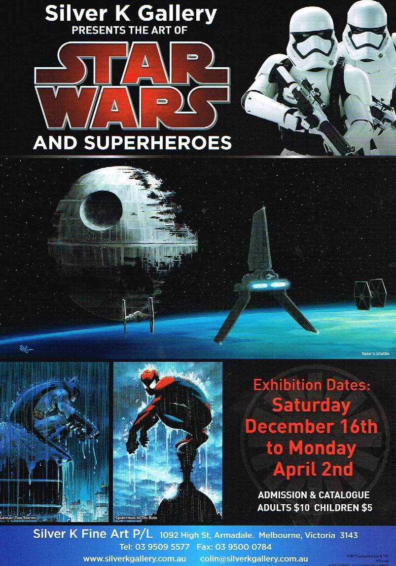 The Art of Star Wars and Superheroes