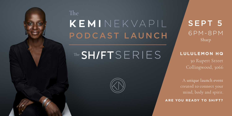 The Kemi Nekvapil Podcast Launch