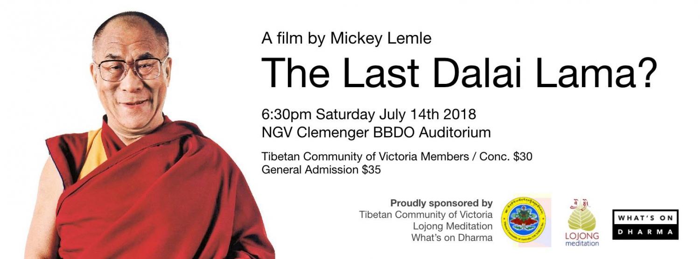 The Last Dalai Lama? First Melbourne Screening at the NGV