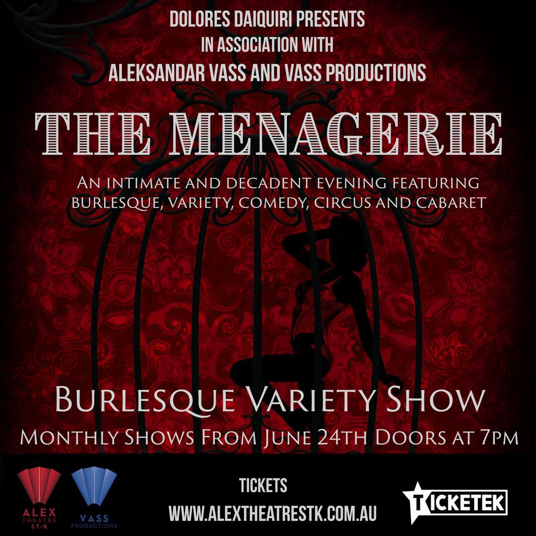 The Menagerie - Burlesque and Variety Show