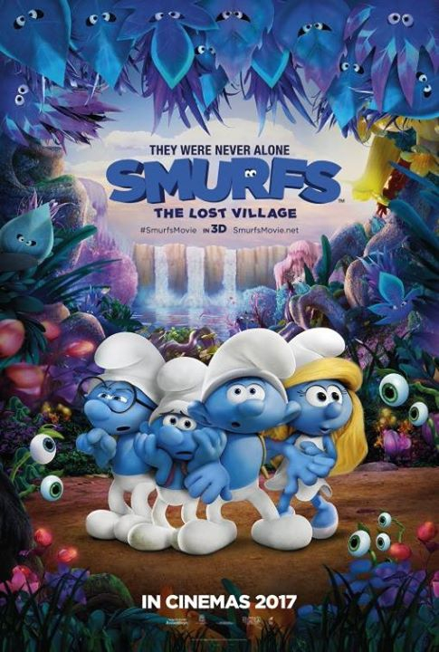 The Smurfs: Lost Village at Rooftop Drive In Cinema