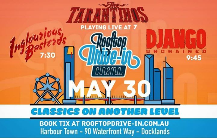 The Tarantinos LIVE at The Rooftop Drive-In