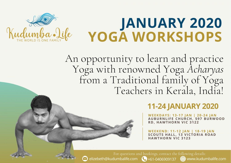 Traditional Yoga Workshops