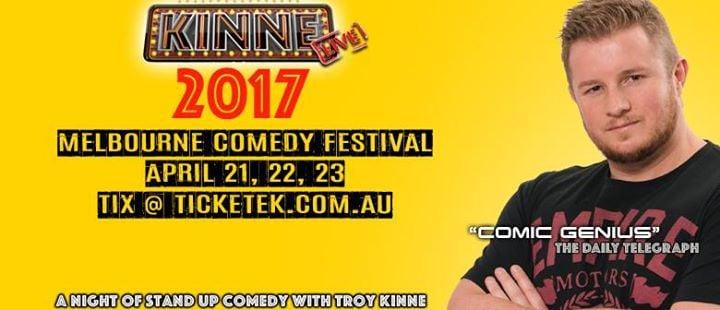 Troy KINNE at Melb Comedy Festival