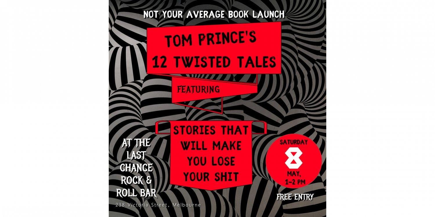 Twelve Twisted Tales – Book Launch