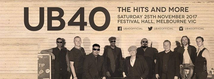 UB40 at Festival Hall | Melbourne