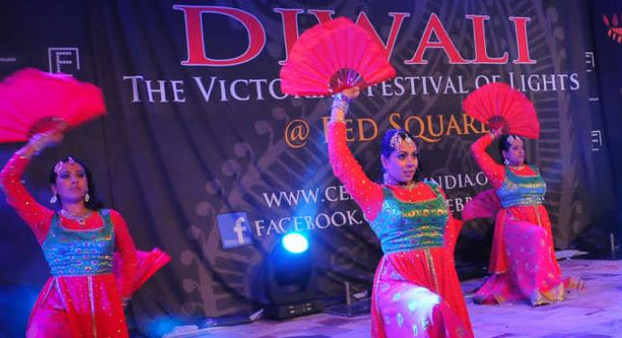 Victorian Festival of Diwali at Federation Square