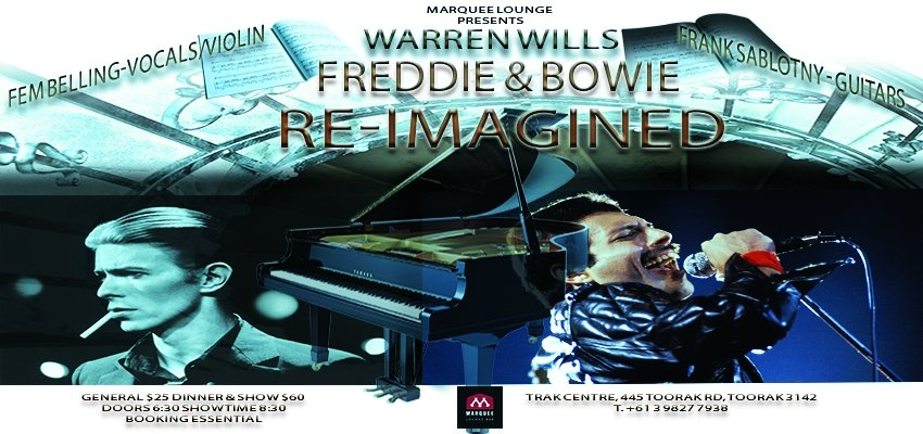 Warren Wills- Freddie & Bowie Re-Imagined