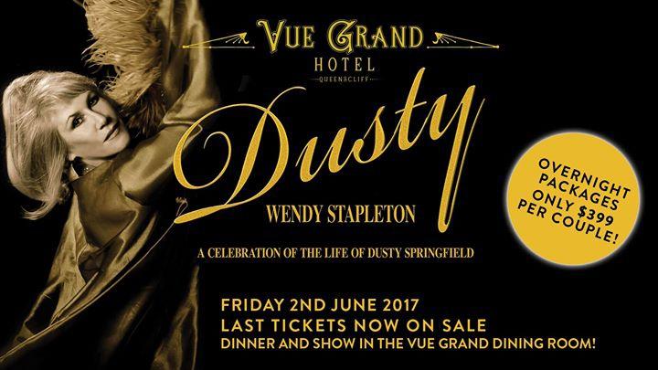 Wendy Stapleton presents Dusty.