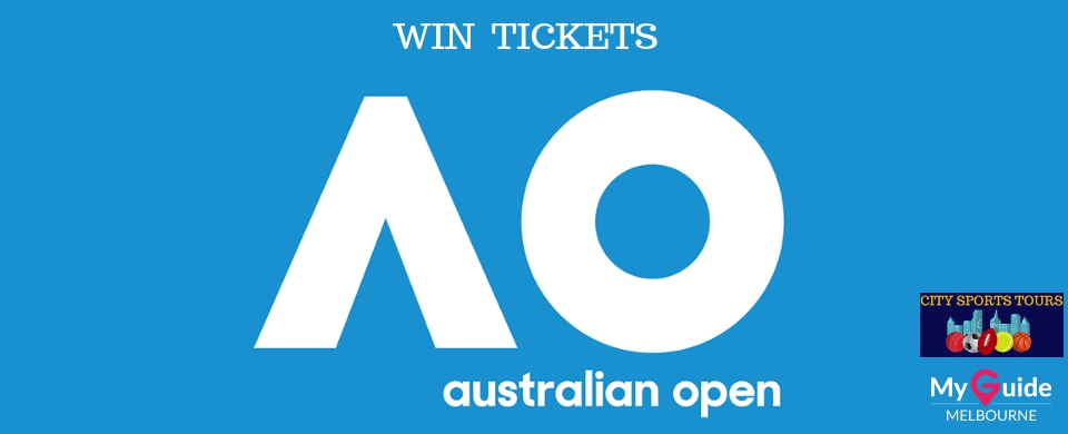Win tickets to the Australian Open Tennis