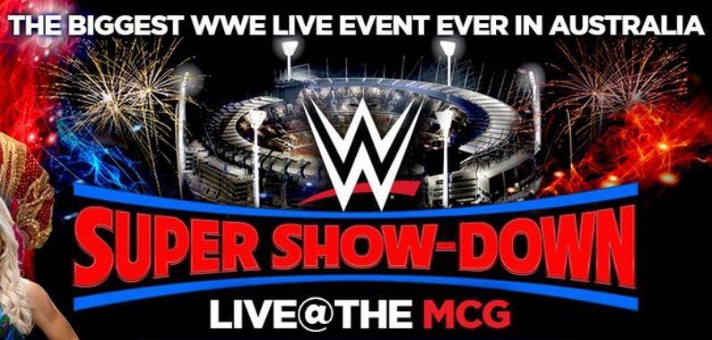 WWE LIVE AT MCG