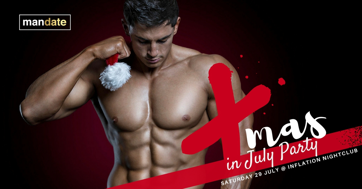 X-MAS IN JULY PARTY with MANDATE
