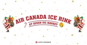 Ice Skating at Queen Victoria Market