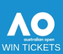 Win tickets to the Australian Open Tennis