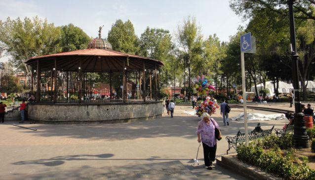 Jardin Hidalgo In Mexico City My Guide Mexico City