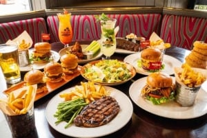 Meal at Hard Rock Cafe Miami at Biscayne Marketplace