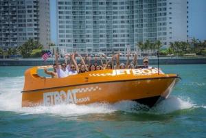 Miami: Adrenaline Junkie Jet Boat Ride