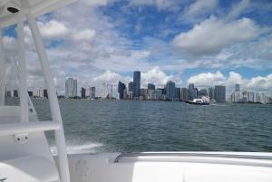 Miami City & Boat Tour with Bike Rental