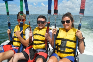 Miami: Parasailing Experience in Biscayne Bay