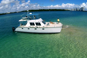 Miami: Private Catamaran Charter Sandbar Sun and Swim