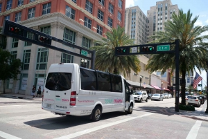 Miami Sightseeing Tour in a Convertible Bus (French)