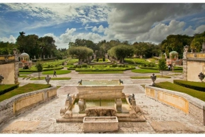 Miami: Vizcaya Museum & Gardens Ticket with Transport