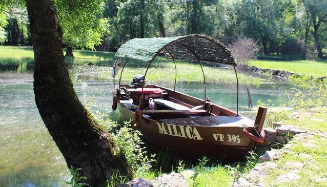 Boat Milica - Skadar Lake