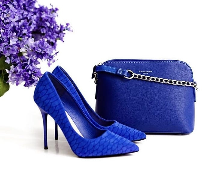Women/'s LOVE DELICIOUS ARTWORK-LD ELECTRIC BLUE Evening Pump Sandal Shoes