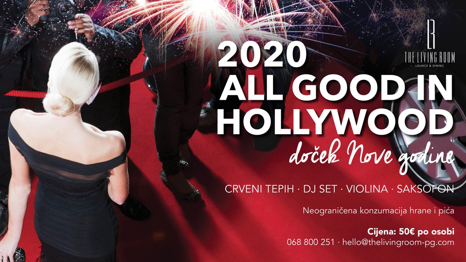 All Good in Hollywood: New Year`s Eve Party at Centreville Hotel