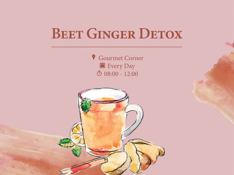 Beet Ginger Detox