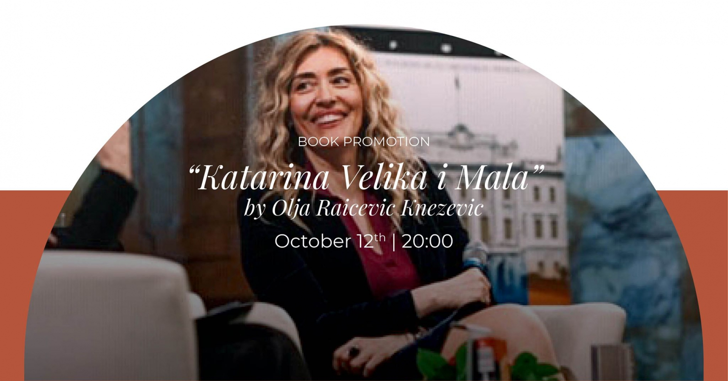Book promotion: 'Katarina Velika i Mala' at Regent
