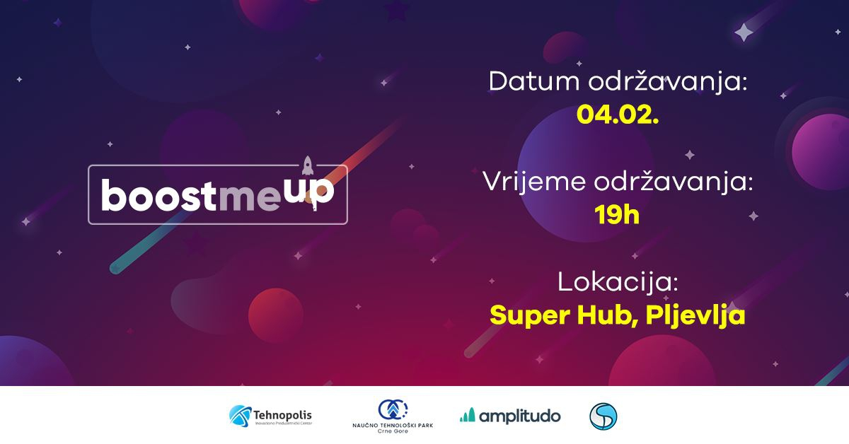 BoostMeUp - From an Idea to Successful StartUp at Tehnopolis