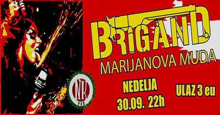 Brigand & Marijanova Muda at NK Pub