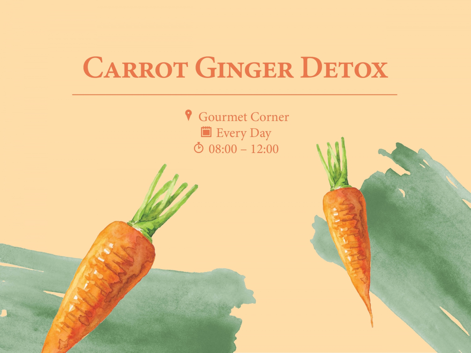Carrot Ginger Detox