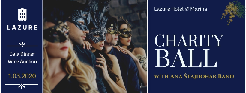 Charity Ball Under The Masks at Lazure