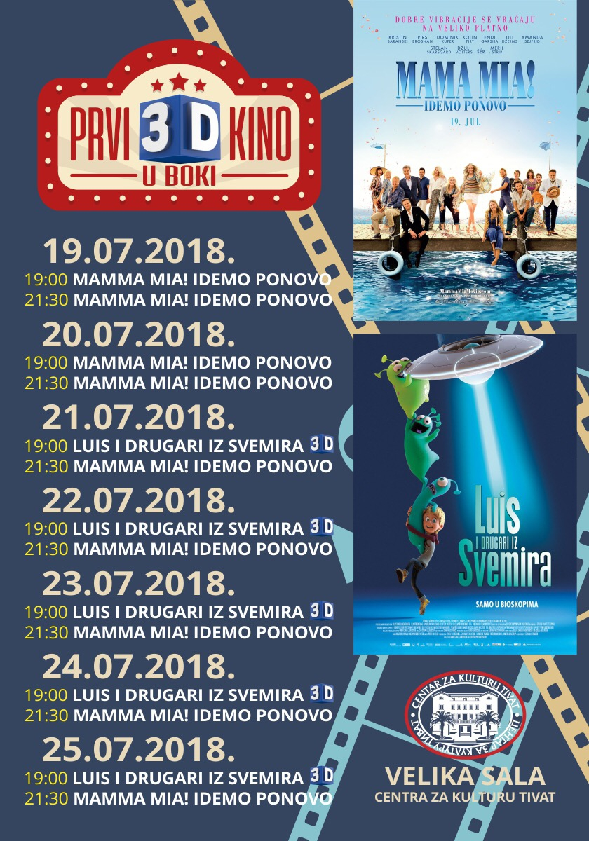 Cinema Program in Tivat