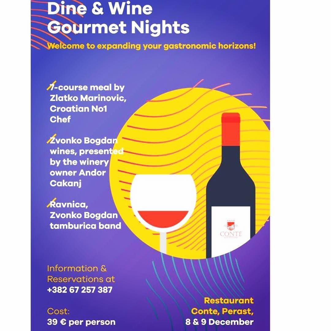 Dine & Wine Gourmet Nights