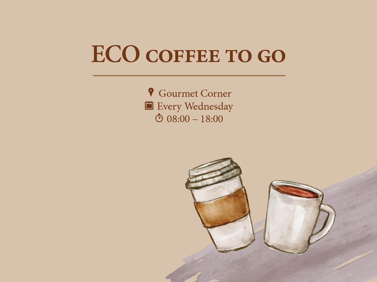 Eco Coffee to Go at Regent Porto Montenegro