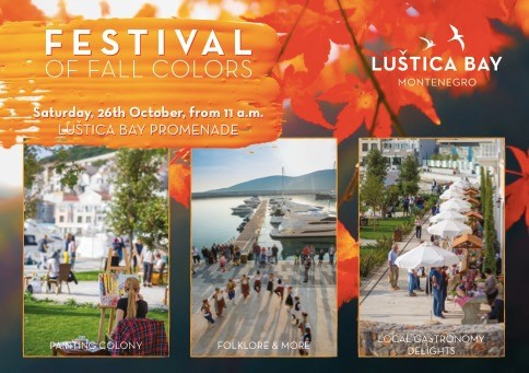 Festival of Fall Colors by Lustica Bay